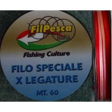 Filo legatura anelli bicololore mt.60 - FILPESCA -