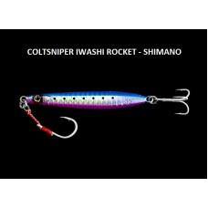 Metal Jig Shimano Coltsniper Iwashi Rocket 20 - 30  gr