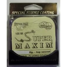 Monofilo Fluoro Coating SUPER MAXIM - Fil pesca -