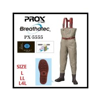 PROX WADER 5555 BREATHATEC SUOLA RADIALE GOMMA