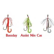 BASSDAY Nin Cas  RICAMBIO PER KABURA CON ASSIST + Falcetto