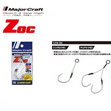 ASSIST HOOK SINGOLO MAJOR CRAFT ZOC