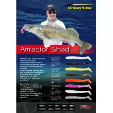 Artificiale  ATTRACTOR SHAD 3″ - Fish Action
