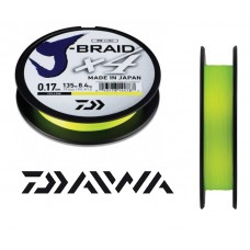 Trecciato Daiwa J BRAID X 4 - Yellow