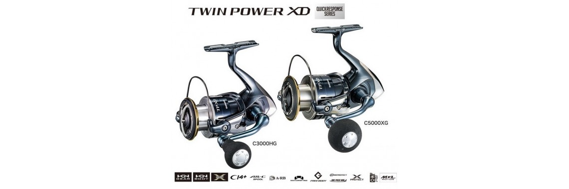 Mulinello Shimano TWIN POWER XD spinning reels