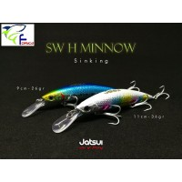 Artificiale   Jatsui SW H -Minnow   Sinking - Offerta -