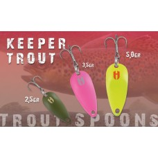 Cucchiaino SPOON  KEEPER TROUT -Area-