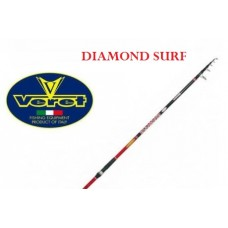 Canna VERET DIAMOND SURF 60/160 gr