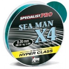 LENZA DAIWA JTM SEA MAN X4 300mt
