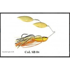 River 2 sea CRYSTAL SPIN 3/8-OFFERTA-Spinnerbait