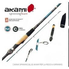 CANNA SPINNING BLUE AKAMI 2.10 mt - 25-55 gr -OFFERTA-