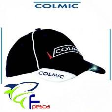 Cappello Colmic Cotone blu con 5 led
