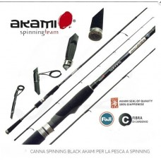 CANNA SPINNING BLACK AKAMI 2.10 mt 20-50 gr -OFFERTA-