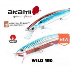 ARTIFICIALE AKAMI WILD 190 LONG JERK - SLOW SINKING