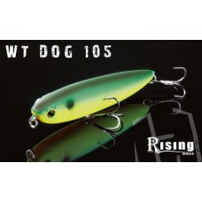 ARTIFICIALI  RISING  TOPWATER  WT DOG 105 - wtd -