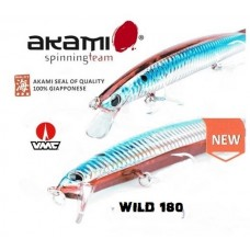 ARTIFICIALE AKAMI WILD 180 LONG JERK - SLOW SINKING