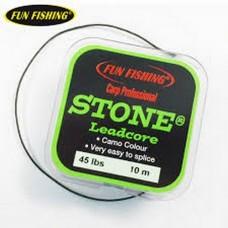 Treccia Leadcore STONE Carp - Fun Fishing - Camo - OFFERTA-